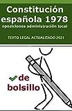 La Constitución Española de 1978 de bolsillo: para opositores: 2 (Auxiliar...