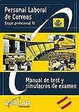 MANUAL DE TEST Y SIMULACROS DE EXAMEN DE CORREOS