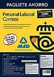 Paquete Ahorro Personal Laboral Correos 2020. Ahorra 68 € (incluye Temarios 1...