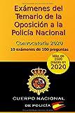 Exámenes del Temario de la Oposición a la Policía Nacional - Convocatoria...