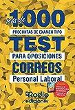 Correos. Personal Laboral: Más de 1.000 preguntas de examen tipo test para...