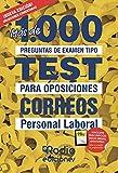 Personal Laboral. Correos: Más de 1.000 preguntas de examen tipo test