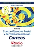 Cuerpo Ejecutivo Postal y de Telecomunicación. Temario. Promoción Interna:...