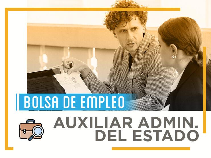 Toda la información que necesitas saber sobre las bolsas de empleo de Auxiliar Administrativo del Estado