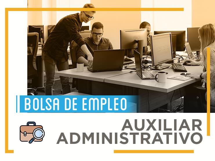 Toda la información que necesitas saber sobre las bolsas de empleo de Auxiliar Administrativo