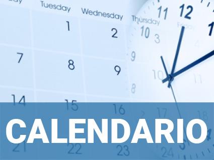 Calendario de oposiciones